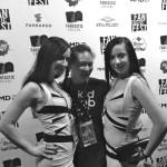 Jennifer Luk with the Soska Twins