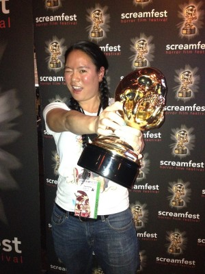 PostHuman wins Best Animated Short at Screamfest!