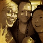 Carrie Matherly, Cole Drumb, and Jennifer Luk